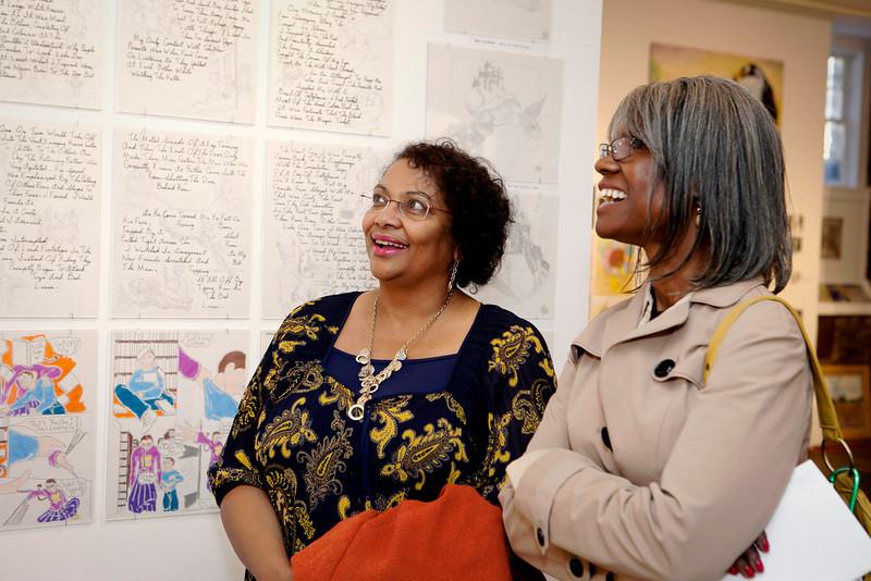 CPA's Development Director Sondra Bradford-Jennings with CPA's Denise Holloman.