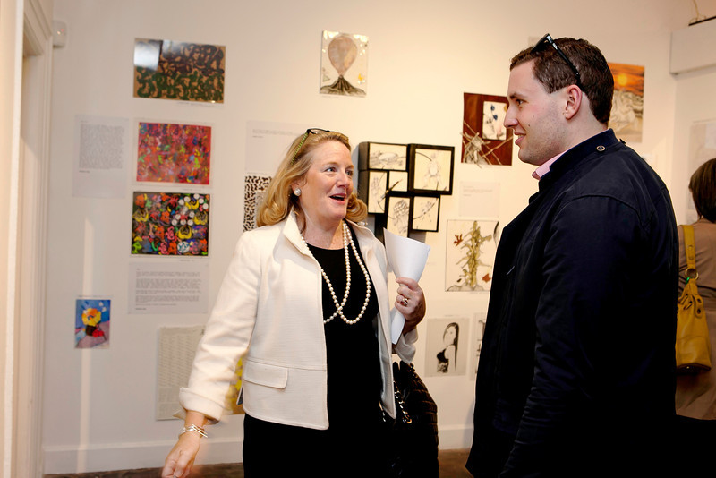 Cathy Malloy, Executive Director and Tim Yergeau, Director of Communications, Greater Hartford Arts Council.