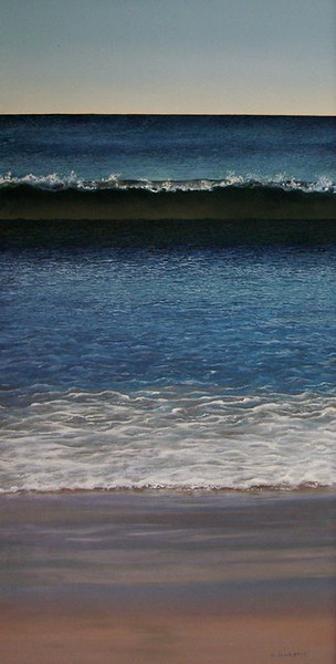 """""""Calm Day""""<br /> oil   <br /> 27"""" x 14""""<br /> <br /> For Sale- Call the gallery- 902-863-5407"""
