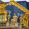 Details of the Versailles palace in Paris