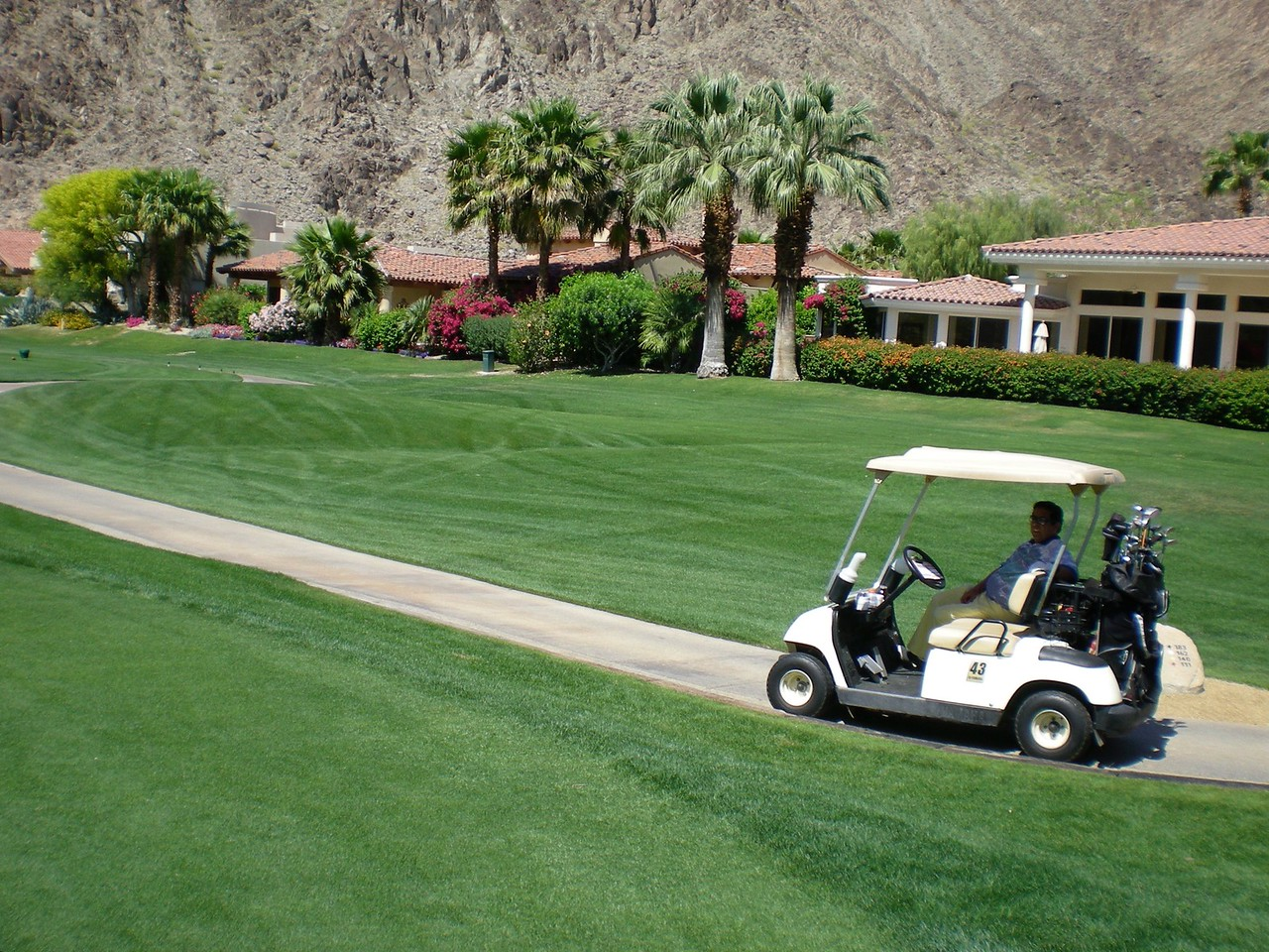 March 26, 2008, played golf with Dan, Paul, Joaquin and myself at La Quinta Resort Golf Course