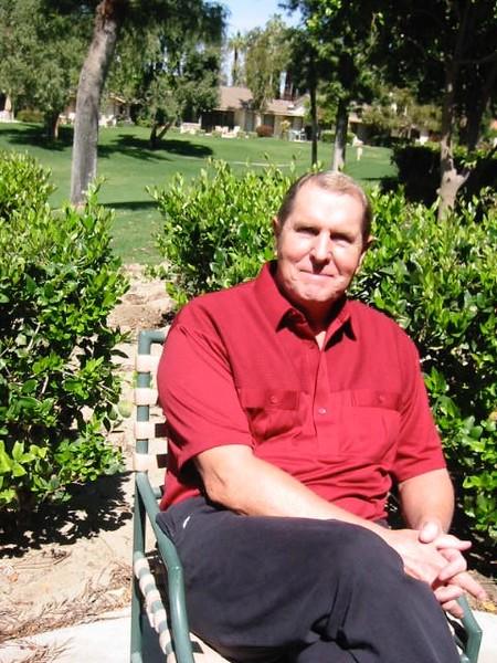 Relaxing in Palm Desert