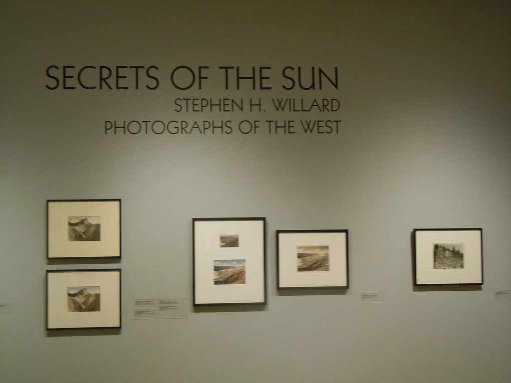 Visit to the Palm Springs Museum on Friday, January 10, 2014 with Betty, Tom and Paul Cotton