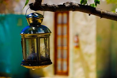 LAMP AND WINDOW