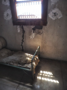 Jail cell in Chloride