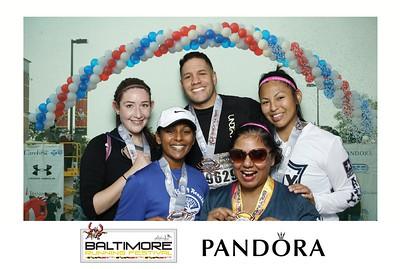 PANDORA at the Baltimore Running Festival 10.15.16