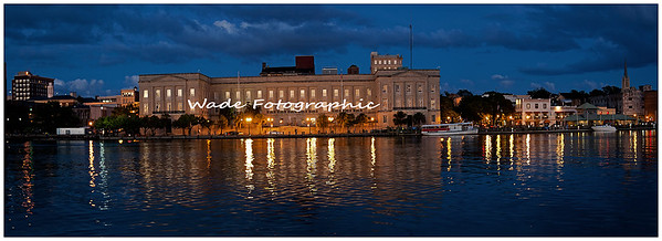 Federal Courthouse Downtown Wilmington NC  Size 8x22