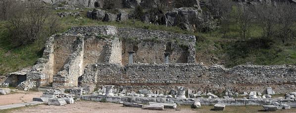 Old City Ruins at Philippi