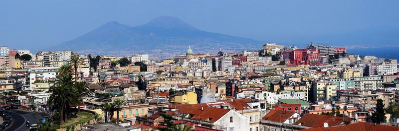NAPLES CITYSCAPE - ITALY