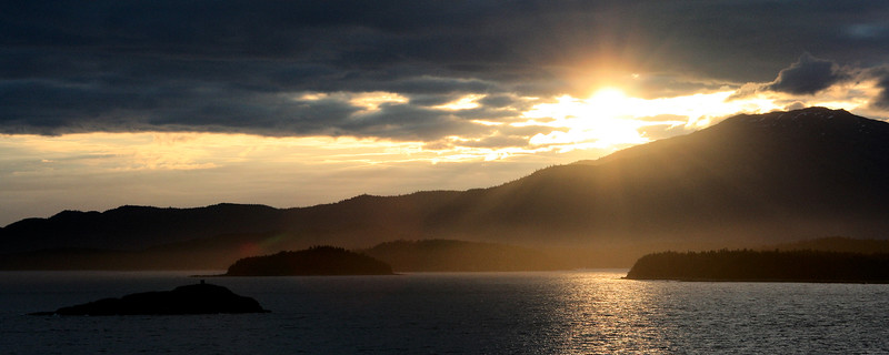 Sunset, British Columbia Coast