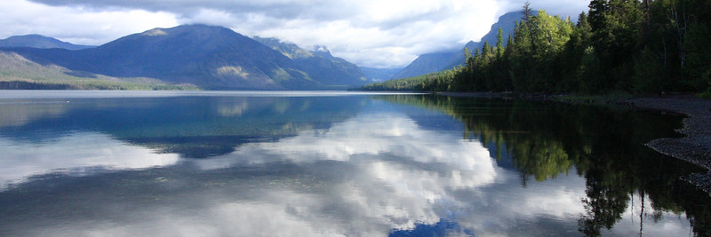 MacDonald Lake, Glacier National Park