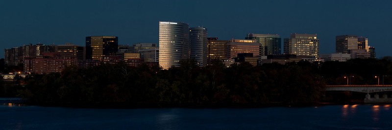 ROSSLYN SKYLINE AT DUSK OR PRE DAWN V2