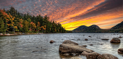 ACADIA FALL SUNRISE