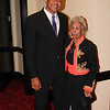 IMG_1208 -  Trevor Pettiford, Bay News 9 Sr. Reporter & Master of Ceremony with Lois Howard Williams - 2013 28th Annual MLK Awards Banquet<br /> Photographer -  Big G Al Williams