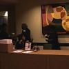 IMG_1199  - 28TH ANNUAL MLK AWARDS BANQUET - ARTHURENE, THELMA, CHRISTINE, HILDA & LOIS AT RECEPTION TABLE         <br /> Photographer - Big G.  Al Williams