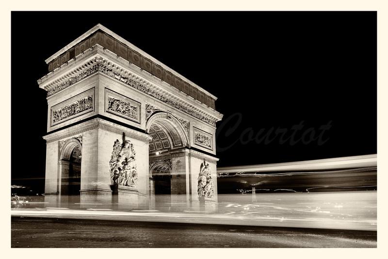 Arc Triomphe_20131114_0060 B&W