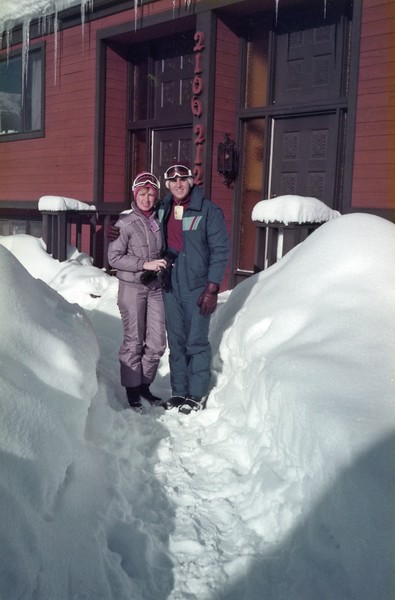 Sking at Park City Utah with the family during their Christmas Vacation Holidays