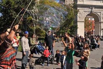 """PARK -ing""   IN  MANHATTAN    -   Washington  Square  Park,  New  York  City   2014"