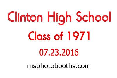 2016-07-23 Clinton High Class of 71 Reunion