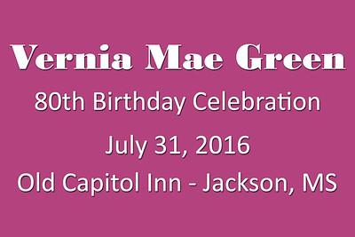 2016-07-31 Green 80th Birthday Party