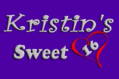 2017-10-21 Kristin's Sweet 16