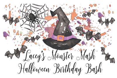 2017-10-27 Lacey's Monster Mash Birthday Bash