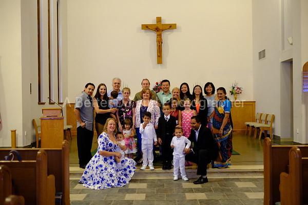 BAPTISM FOR KRISH, JAXON, AND TAJ NEW JERSEY 7-31-16