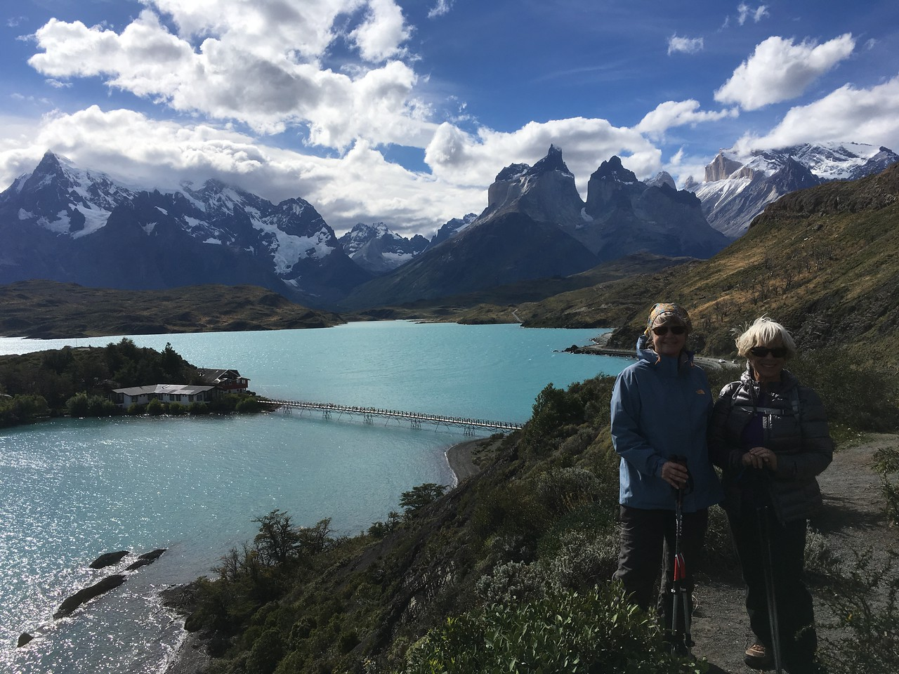 Fabulous hiking today in Torres del Paine!
