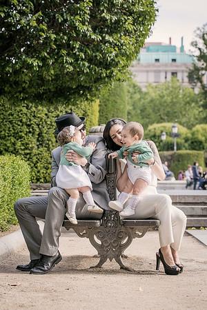 Patricia y familia