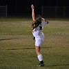 One of her infamous kicks!!! Brooke could always kick a soccer ball when she was very new to the game.