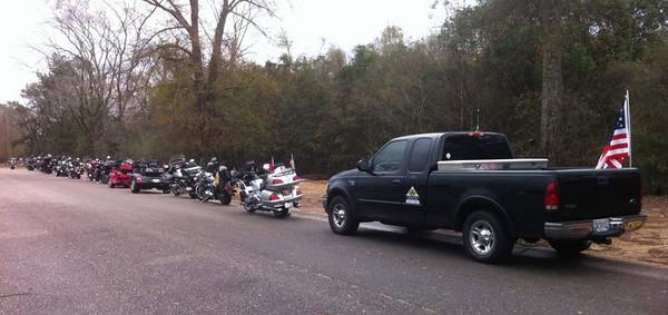 W. F. Green HOTH - Bingo Mission, Sixteen bikes, 25 individuals.Jan 21, 2012