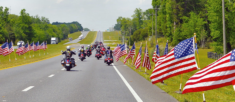 HISTORY FLIGHT - DPAA Tallahassee to Dothan<br /> PGR escort - thank you RCIC for the professionalism you displayed during this dignified transfer and funeral. - - Honor-Release-<br /> Return, Fran