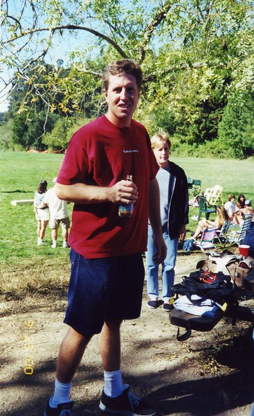 Tommy at Patty Monahan's Wedding Sept 2000