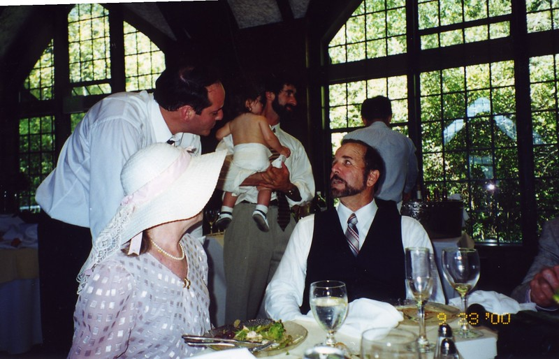 Gary, Rona and others Bill and Jennifer Monahan's Wedding Sept 2000