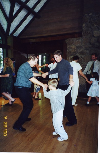 Dancing with Paul and Tommy Bill and Jennifer Monahan's Wedding Sept 2000
