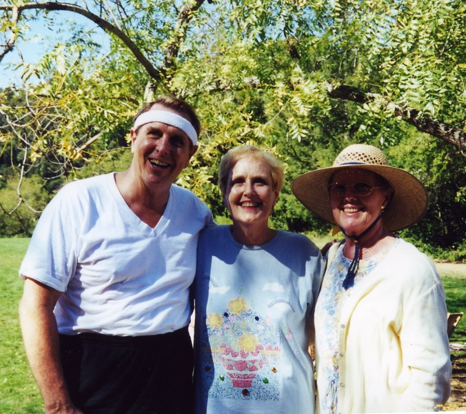 Rona, Tom and Carol at Patty Monahan's Wedding Sept 2000