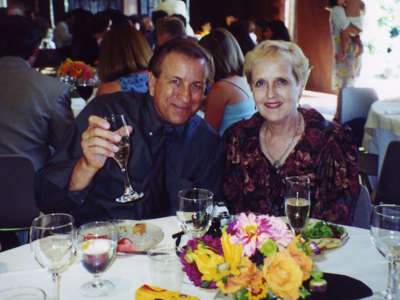 Bob and Carol at Patty Monahan's Wedding Sept 2000