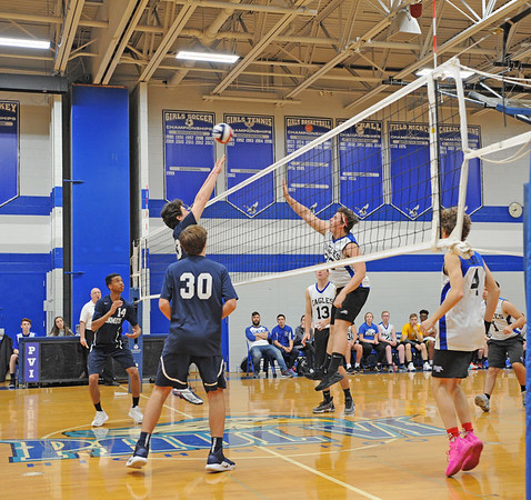 PAUL  VI  VS  ST. AUGUSTINE PREP/ BOYS VOLLEYBALL- 04 /15/19