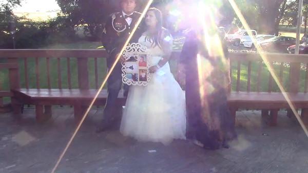 PAULA'S DAUGHTER WEDDING STILLS AND VIDEOS