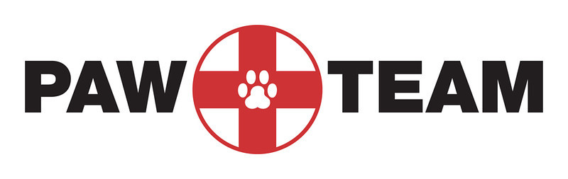 PAWTeam Logo White Banner
