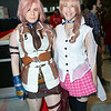 Lighting and Serah Farron