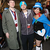Dick Gumshoe, Phoenix Wright, and Trucy Wright
