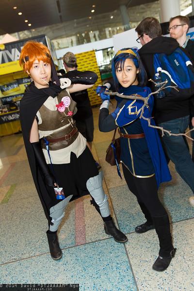 Gaius and Lucina