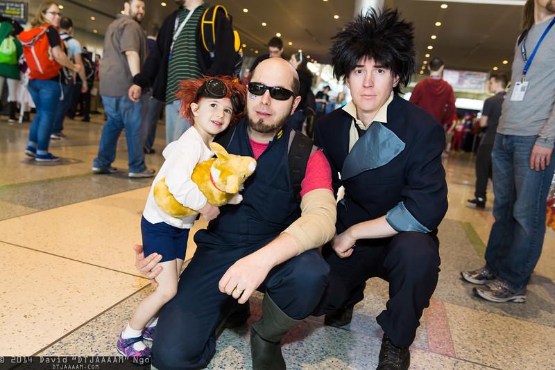 Ed, Jet Black, Spike Spiegel, and Ein