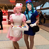 Nurse Joy and Officer Jenny
