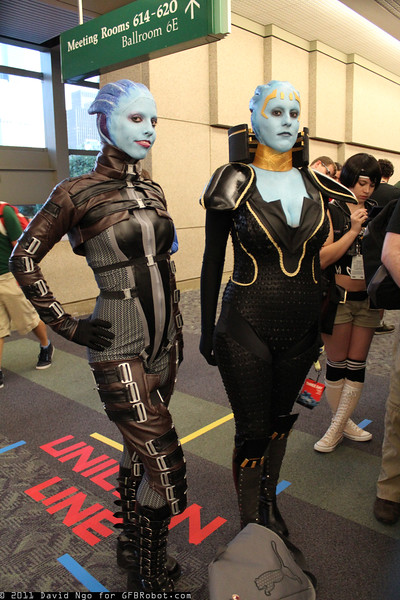 Liara T'Soni and Samara