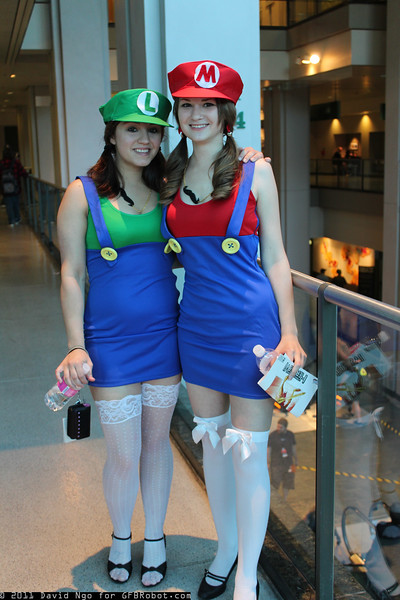 Luigi and Mario