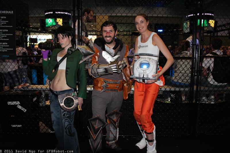 Jade, Hawke, and Chell