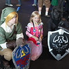 Link, Princess Zelda, and Dark Link