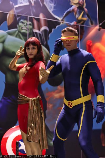 Dark Phoenix and Cyclops